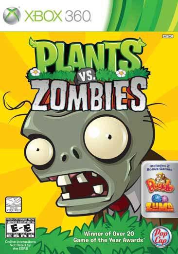 Xbox 360 - Plants vs. Zombies - By PopCap