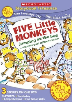 Five Little Monkeys (Sign Language) (DVD)