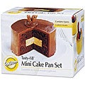 Wilton Tasty-fill Mini Cake Pans (Pack of 4)