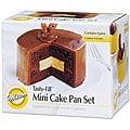 Wilton Tasty-fill Mini Cake Pans (Pack of 4)