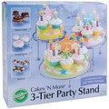 Cakes 'N More 3-tier Party Cake Stand