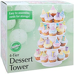 Wilton 4-tier Dessert Tower