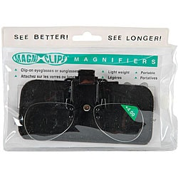 Magni-clips Lightweight Clip-on + 4.00 Magnification Magnifiers