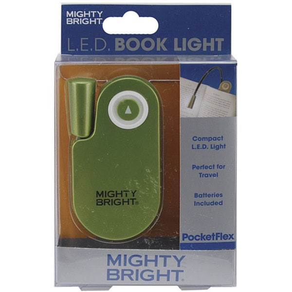 Bright Pocket Green Book Light