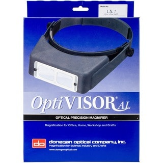 OptiVISOR LX # 7 Hands-free Adjustable Binocular Magnifier Lensplate