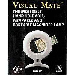 Visual Mate 3-diopter Lens White Magnifier Lamp