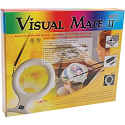 Visual Mate II 3-diopter White Magnifier Lamp