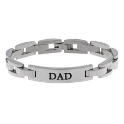 Stainless Steel 'DAD' Bracelet