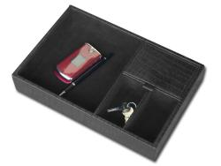 Dacasso Crocodile-embossed Valet Tray