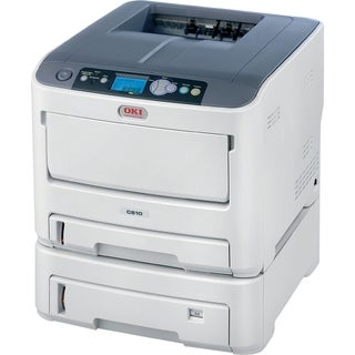 Oki C610DTN LED Printer - Color - 1200 x 600 dpi Print - Plain Paper