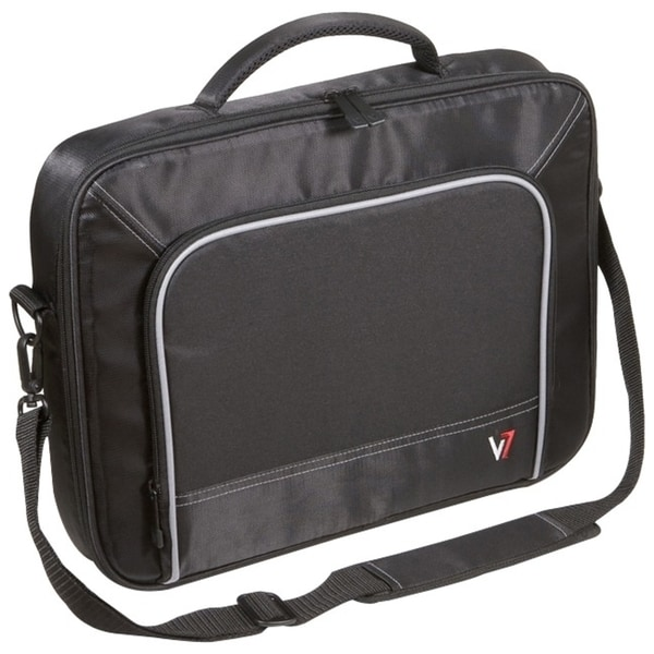 """V7 Professional CCP2-9N Carrying Case for 17"""" Notebook - Black, Gray"""
