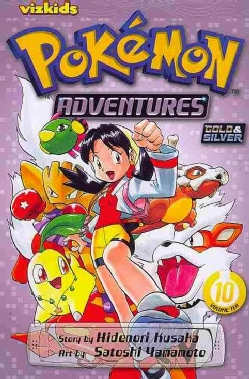 Pokemon Adventures 10 (Paperback)