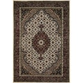Mandara Hand-knotted Traditional Indian Wool Area Rug (9' x 13')