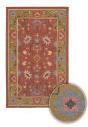 Hand-woven Kaalein Wool Rug (7'9 x 10'6)