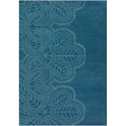 Hand-tufted Tarau Wool Rug (5' x 7'6)
