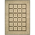 Nourison Newport Garden Chocolate Wool-blend Rug (7'9 x 11')