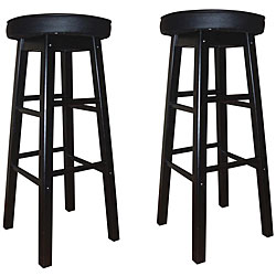 Devers 24-inch Counter-height Stools (Set of 2)