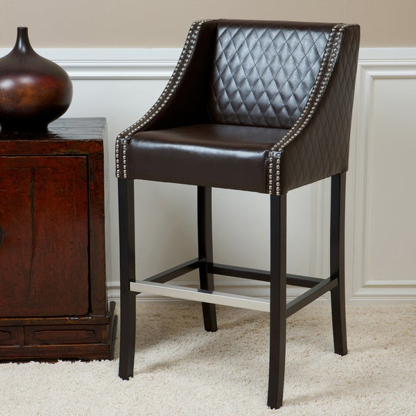 Christopher Knight Home Milano Brown Quilted Bonded