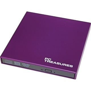Digital Treasures 07188 External DVD-Writer - Retail Pack - Purple