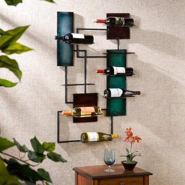 Harper Blvd Wine Storage Wall Sculpture Art