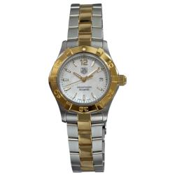 Tag Heuer Women's WAF1424.BB0825 Aquaracer Two-tone Stainless Steel Watch