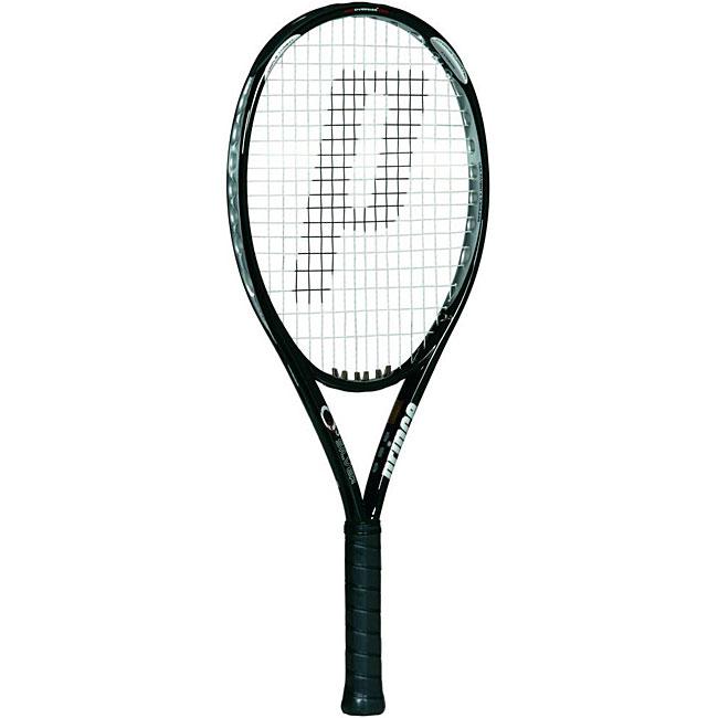 Prince 'O3 Silver' Strung Tennis Racquet