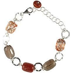 Quartz/ Agate Silver Bracelet (Thailand)