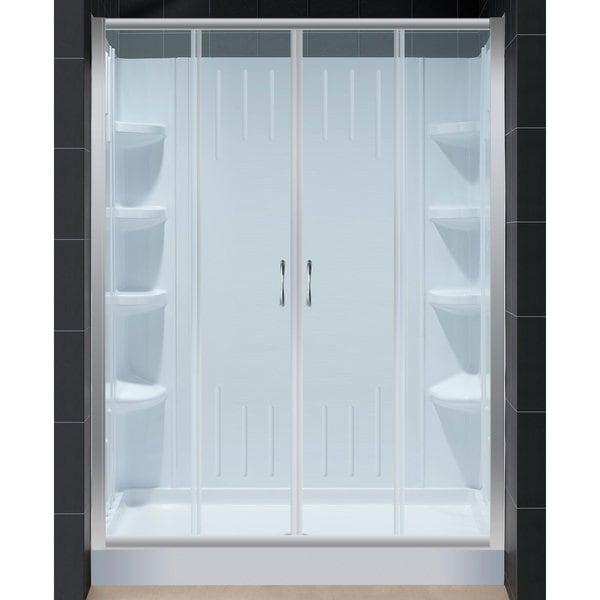 complete shower kits - 28 images - visions sliding shower door ...
