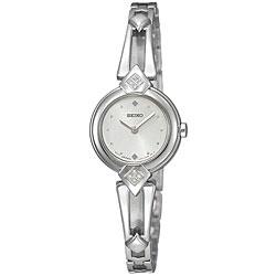 Seiko Women's Aria Stainless Steel Diamond-accent Watch