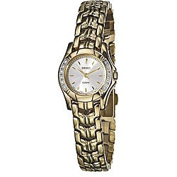 Seiko Women's Goldplated Steel Diamond-accent Watch