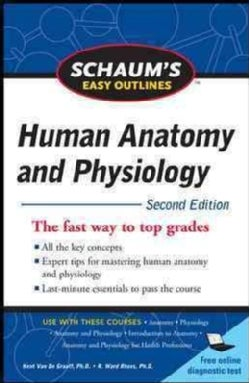 Schaums Easy Outlines of Human Anatomy and Physiology (Paperback)