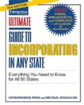 Ultimate Guide to in Incorporating Any State: Everything You Need to Know (Paperback)