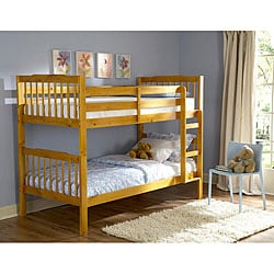 Simone Honey Pine Bunk Beds