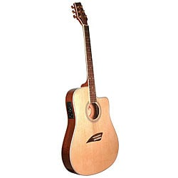 Kona Thin Body Acoustic/ Electric Spruce-top Guitar