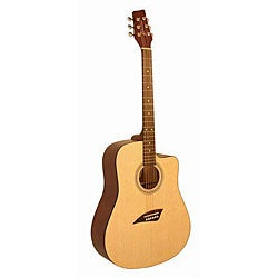 Kona High-gloss Dreadnought Acoustic Guitar