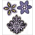 Lilac Avenue Embroidered Badges (Pack of 3)