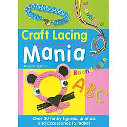 David & Charles Books Anouchka Galvani 'Craft Lacing Mania' Craft Book