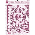 Hot Off the Press Paper Piercing Patterns Template