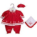 13-inch Martina Doll Red Ensemble