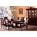 Furniture of America Ravena Oak 7-piece Cherry Dinette Set