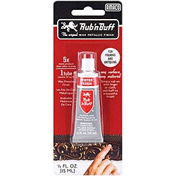 Half-oz Rub-N-Buff Pewter Finish Tube