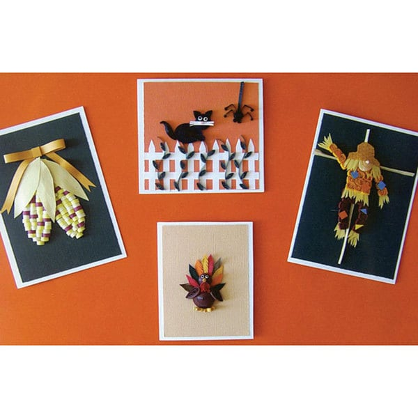 Quilling Kit Fall Greeting Cards