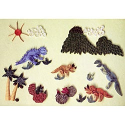 Quilling Kit Prehistoric Times Craft