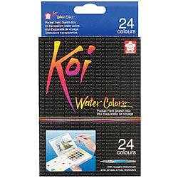 Koi 24-color Water Color Field Sketch Kit