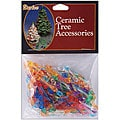 Ceramic Christmas Mini Flame Tree Bulbs (Pack of 250)