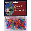 Ceramic Christmas Small Flame Tree Bulbs (Pack of 100)