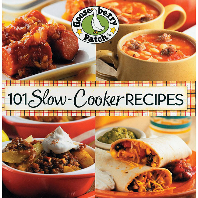 Gooseberry Patch '101 Slow-Cooker Recipes' Cookbook