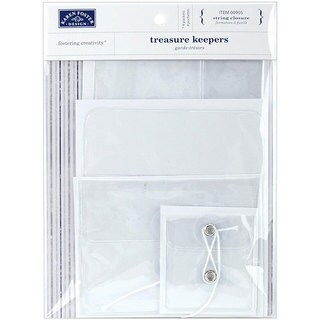 Treasure Keepers With String Closure Assorted Pack