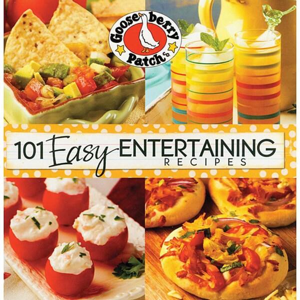 '101 Easy Entertaining Recipes' Cookbook