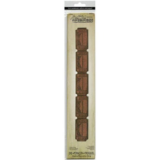Sizzix Tim Holtz 'Ticket Strip' Sizzlits Decorative Strip Die